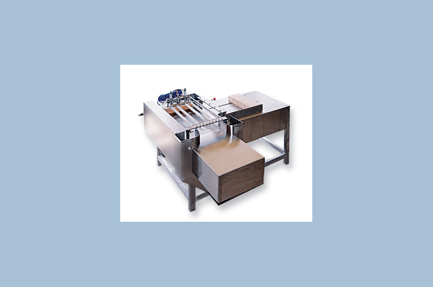 Waffle cutting machine - pneumatic