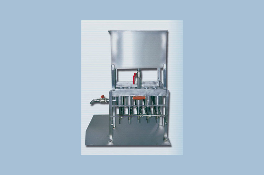 Yougurt and milk dosing machine